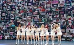 Twice在线演唱会圆满结束,JYP社长朴振英参与了此次演唱会主题