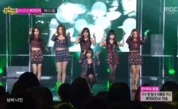 即使当时她们受到韩网友的抵制,女团的歌曲也进入了年榜