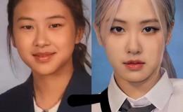 这女团爱豆的毕业照被韩网友热议,容貌有所差异?