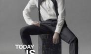 演员朴叙俊登上了香港杂志VOGUE MAN封面